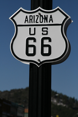 Route 66 arizona photo