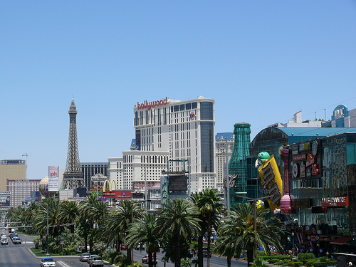 las vegas strip photo