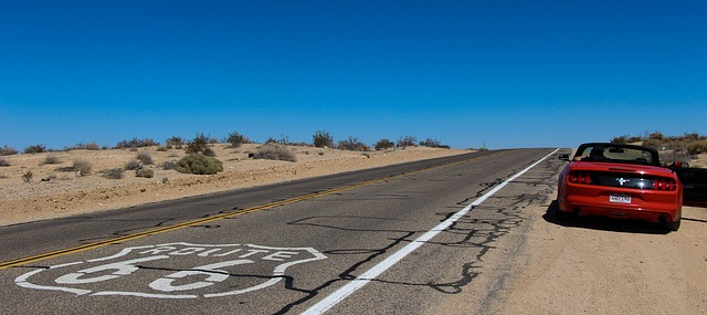 Route 66 road photo