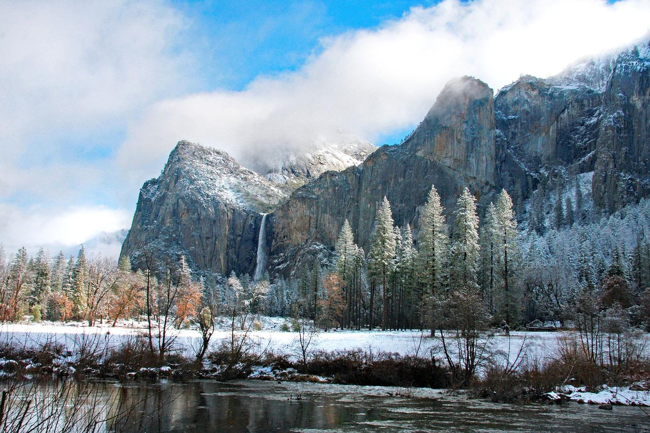 Yosemite snow photo